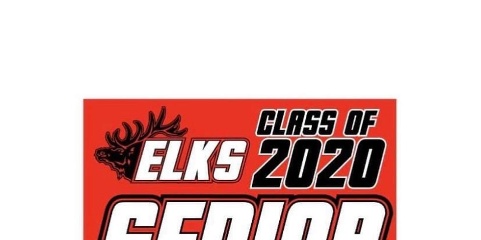 Senior 2020 Yard Sign
