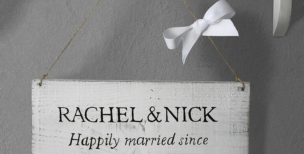 Personalised Wedding Signs