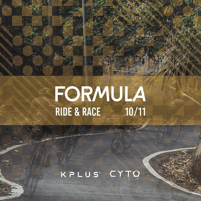 """KPLUS x Team CYTO """"FORMULA"""" Ride & Race"""