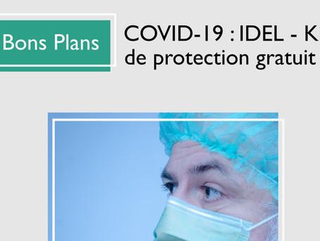COVID-19 : IDEL - Kit de protection gratuit