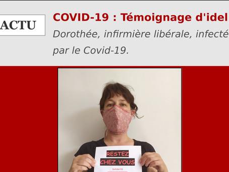 COVID-19 : Témoignage d'une infirmière libérale touchée par le Coronavirus