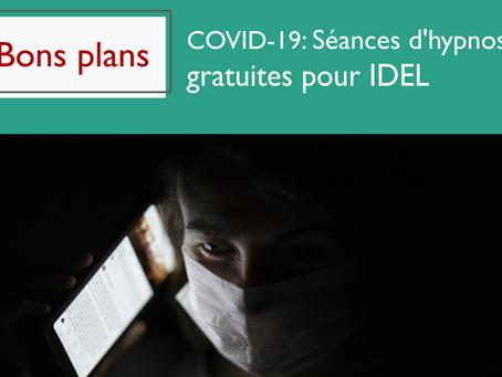 COVID-19 : Séances d'hypnose gratuites pour les IDELS