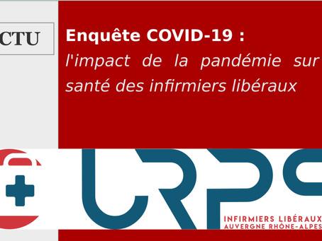 COVID-19 : L'URPS Auvergne Rhône-Alpes consulte les idels touchés par le Coronavirus.