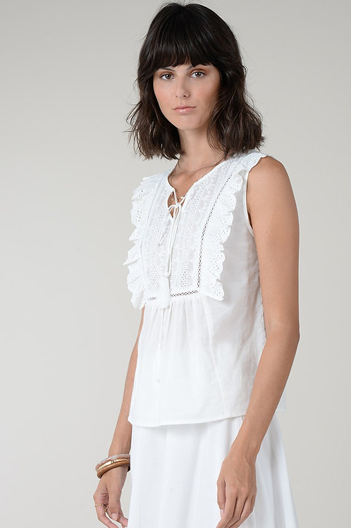 Molly Bracken Embroidered Top