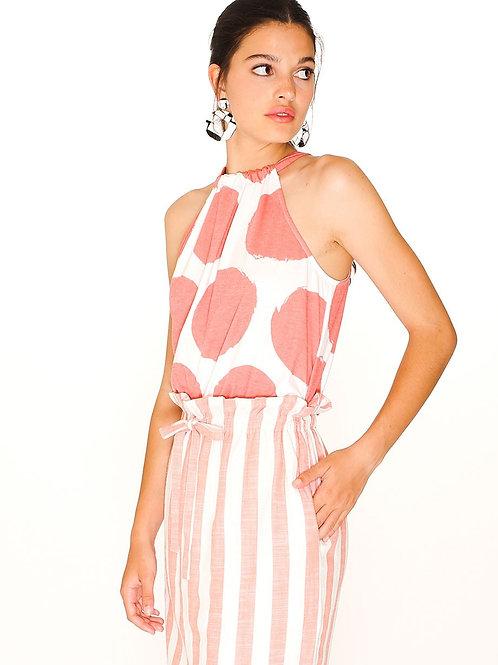 Pepaloves - Pink Stripped Skirt
