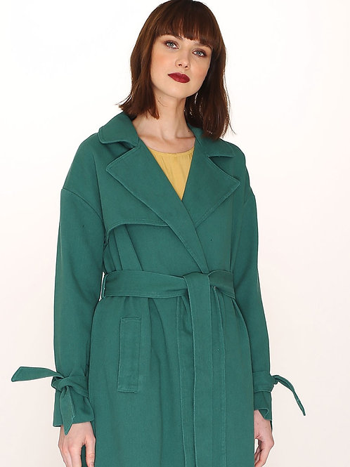 Pepaloves - Green Trench Coat
