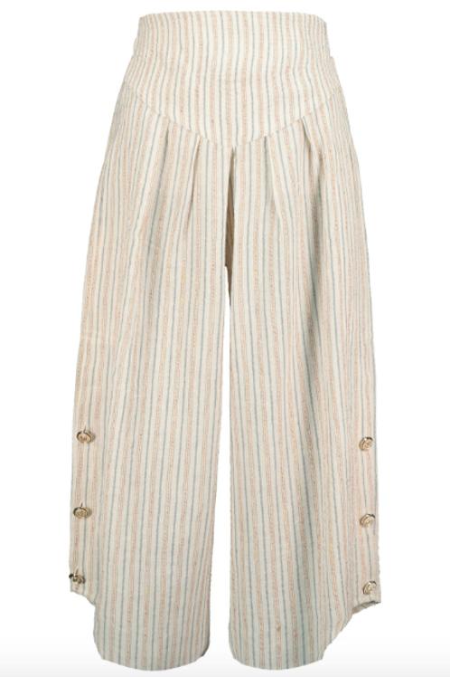 Bishop & Young - Lotus Stripe Pant