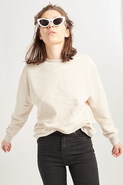 24 Colours - Beige Pullover Sweater
