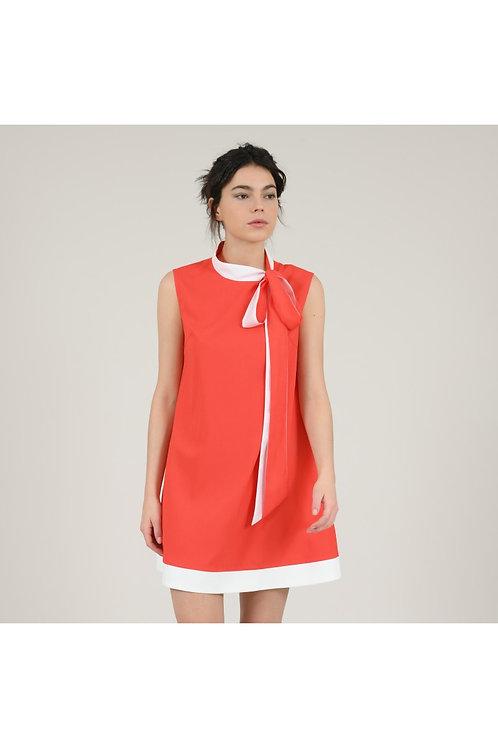 Molly Bracken - Red Woven Dress