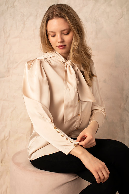 Bishop and Young - Front Tie Blouse