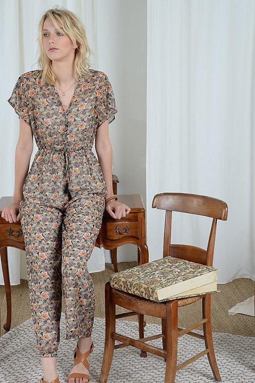 Molly Bracken Paisley Print Jumpsuit