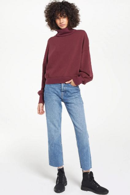 Z Supply- Ellis Mockneck Sweater