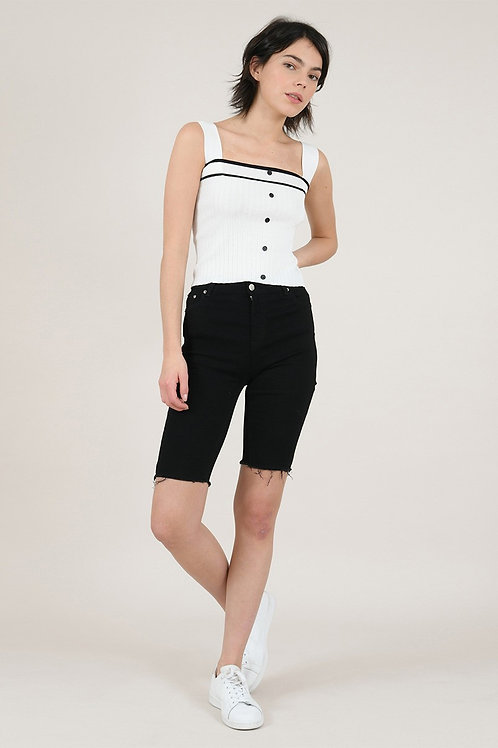 Molly Bracken Long Black Shorts