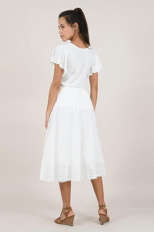 Molly Bracken - Premium White Skirt