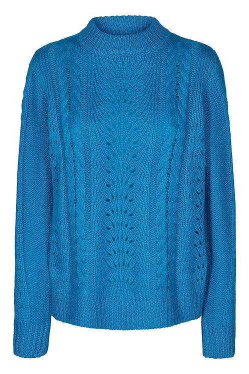 Kaffe - Baby Blue Knit Sweater