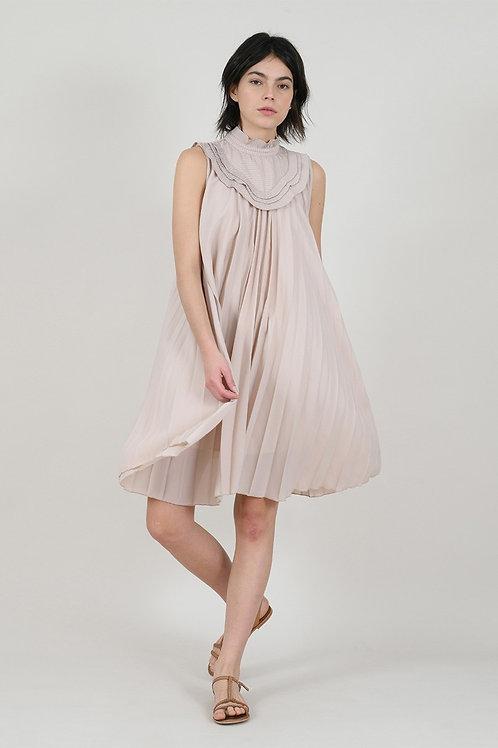 Molly Bracken - Nude Flowy Dress