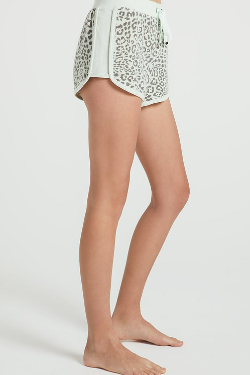 Z Supply Leopard Print Shorts
