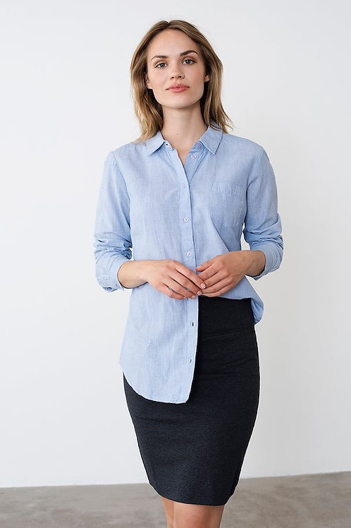Kaffe -Button Up Blouse