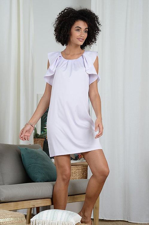 Molly Bracken Frilly Mini Dress