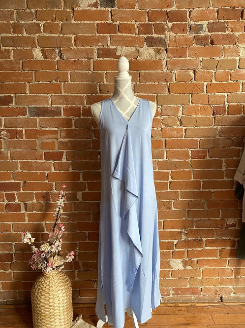 Made in Italy - Long Blue Dress