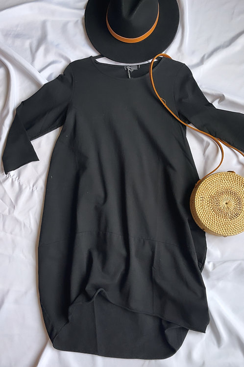 Made in Italy - Erica Black Dress