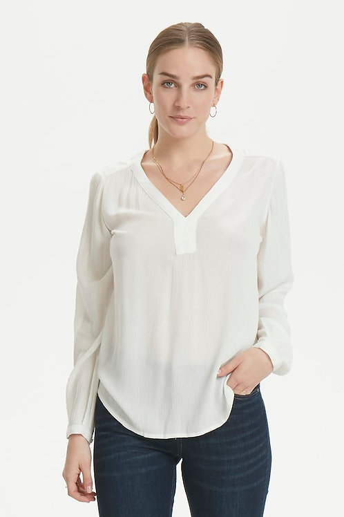 Kaffe -V-neck Tunic Blouse