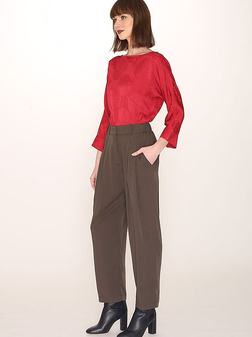 Pepaloves - Charcoal Tailored Trousers