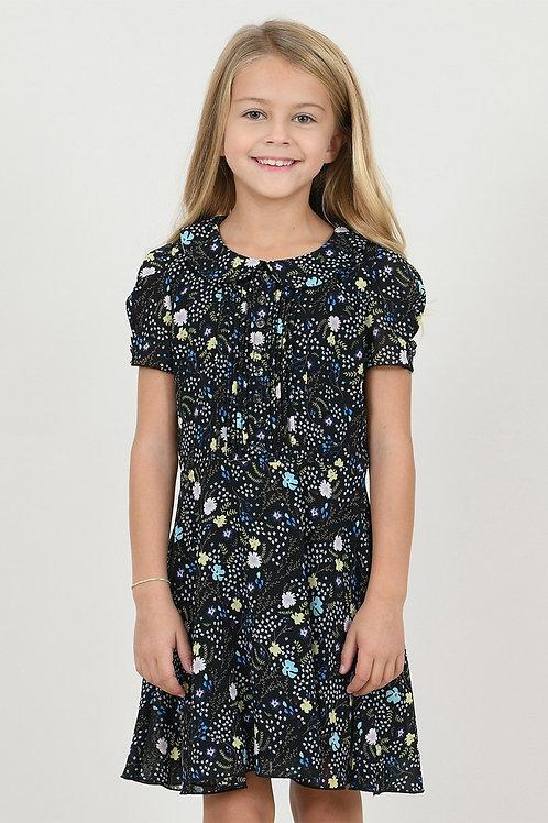 Mini Molly Garden Black Dress