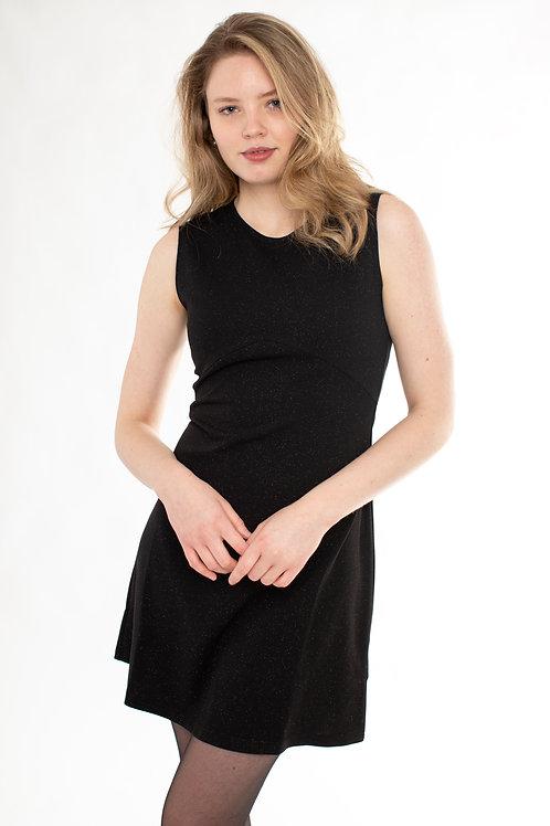 Molly Bracken - Black Woven Dress