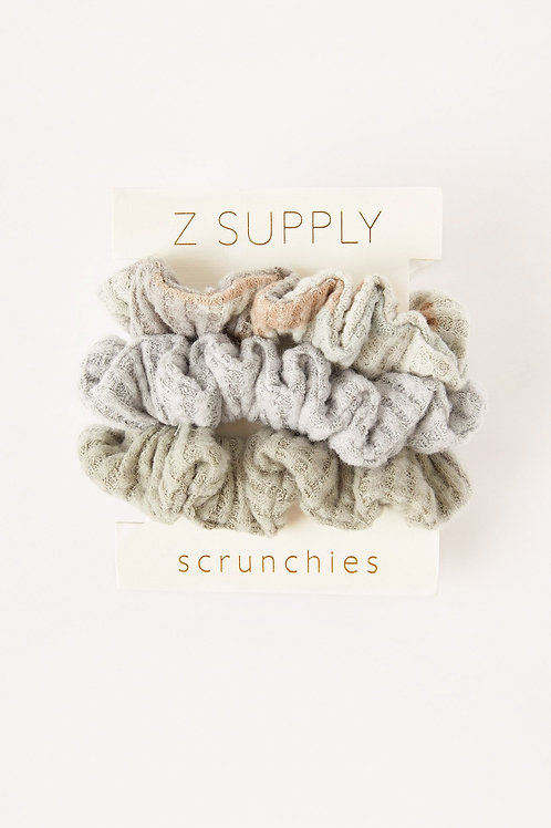 Z Supply - Camo Scrunchie Pack