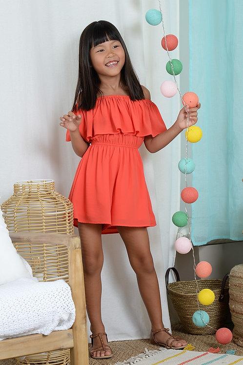 Mini Molly Bare Shoulder Playsuit