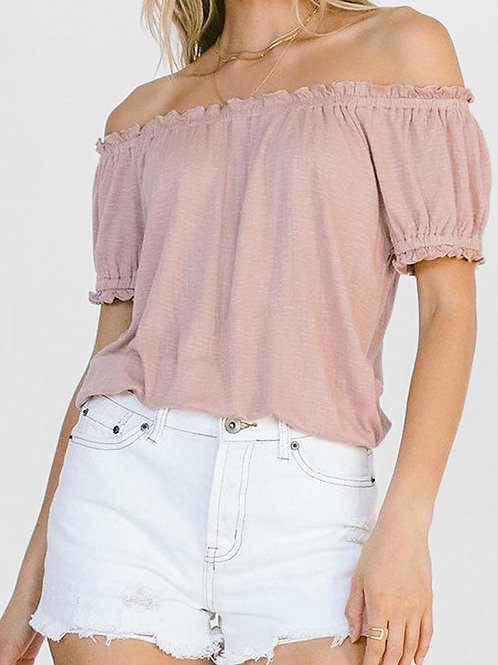 White Crow - Off The Shoulder Top