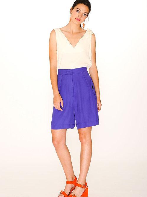 Pepaloves Safari Blue Shorts