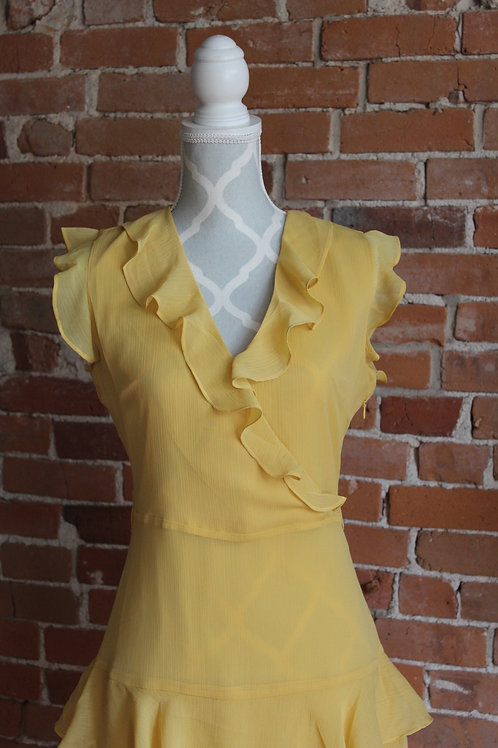 Soaked in Luxury - yellow dress