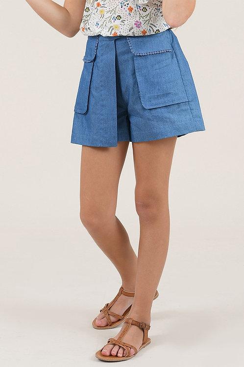 Mini Molly - Denim Shorts
