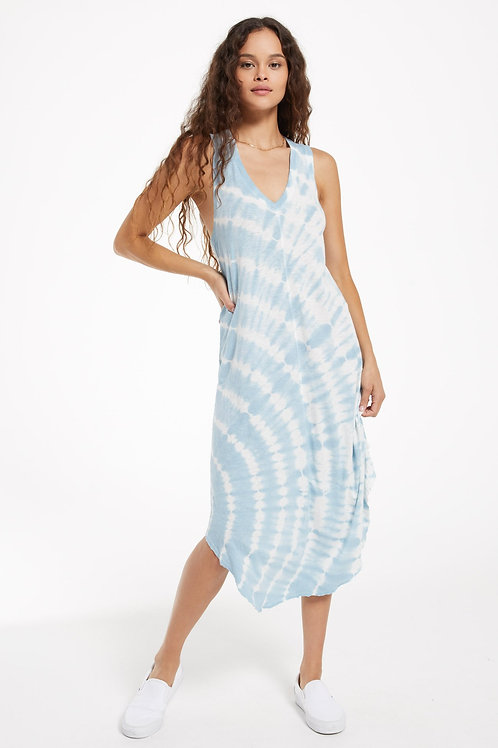 Z Supply - Reverie Spiral Tie-Dye Dress