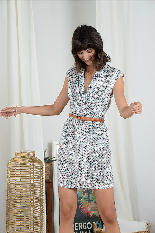 Molly Bracken Wrap-over Dress