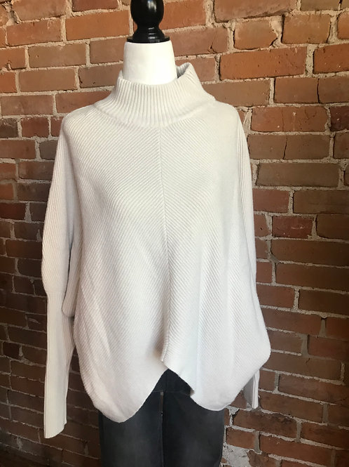 Made in Italy - Knit Long Sleeve Sweater Cream