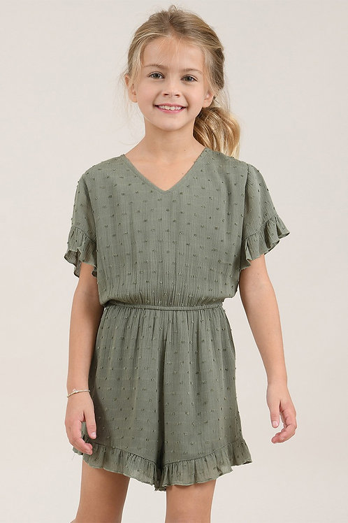 Mini Molly Woven Playsuit