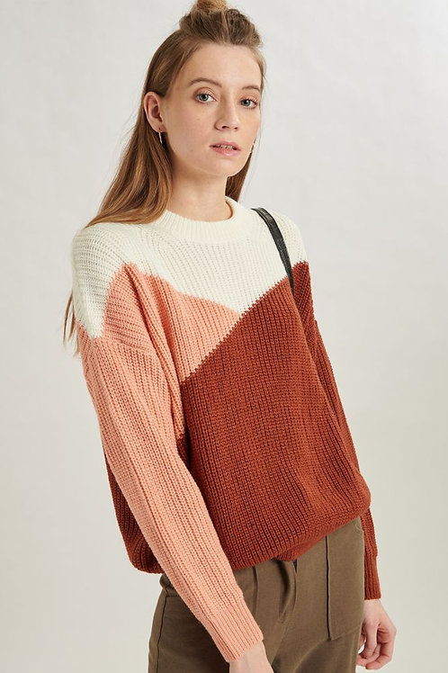 24 Colours -Multi Coloured Pullover