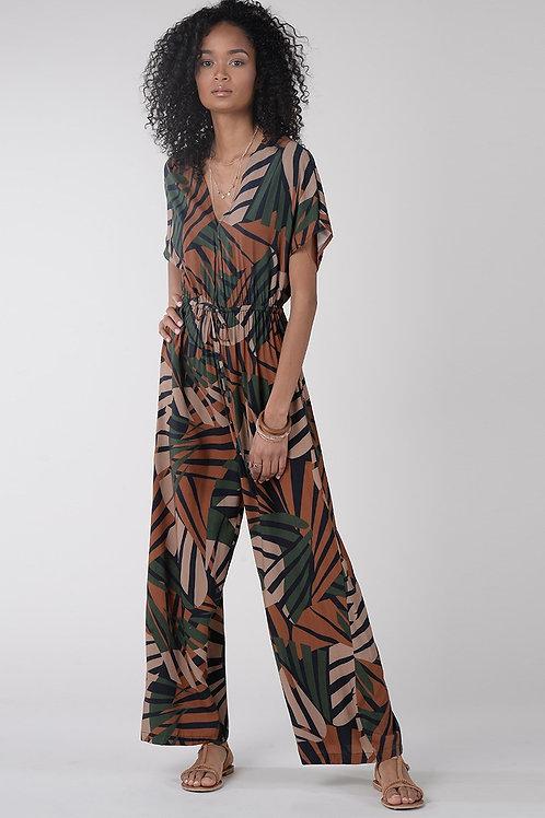 Molly Bracken Printed Jumpsuit