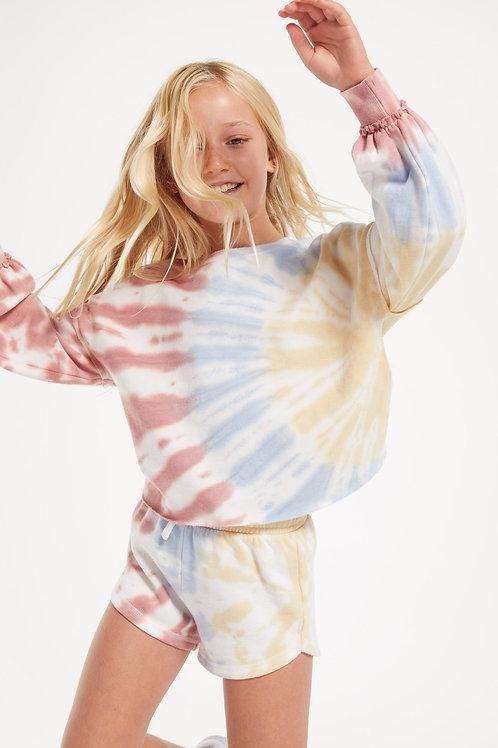 Z Supply (kids) - Mayori Tie Dye Long Sleeve