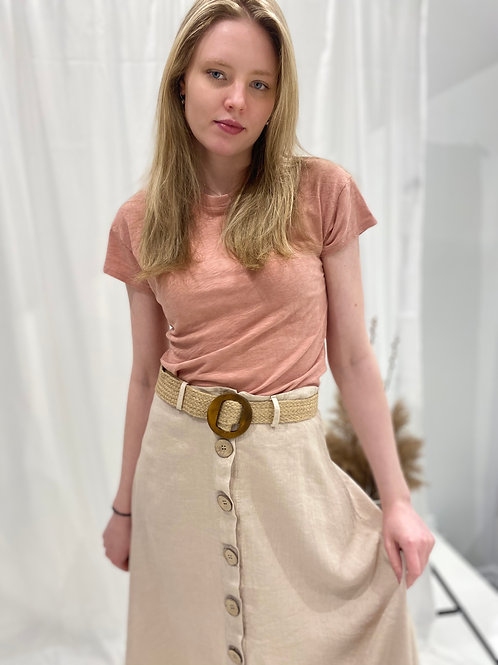 Made in Italy Darian Midi Skirt