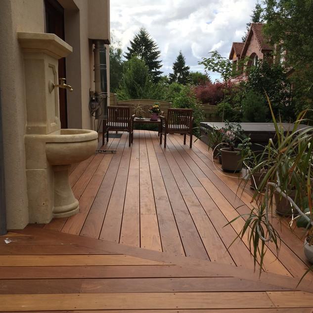 Terrasse en bois IPE