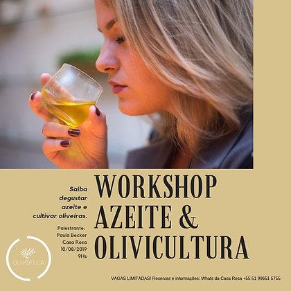 Workshop Azeite e Olivicultura