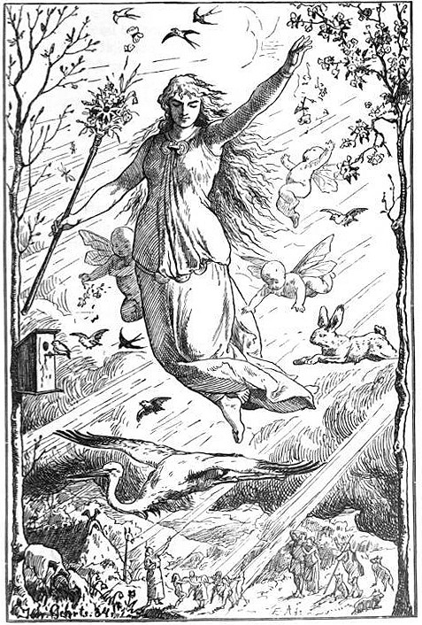 Eostre - Deusa nórdica da fertilidade.