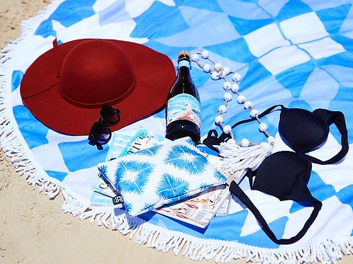 MEKNES ROUND BEACH TOWEL
