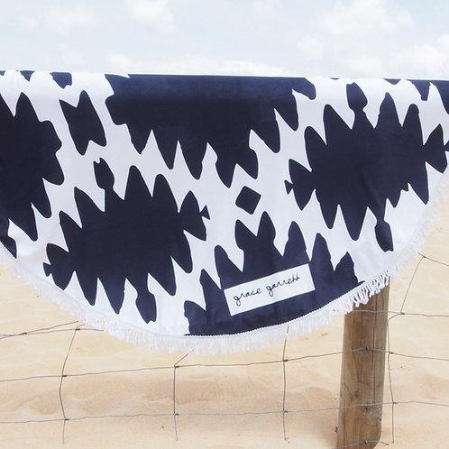 Obsidian Beach Towel Navy - Summer 2018/19