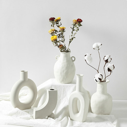Ceramic Table Flower Vases