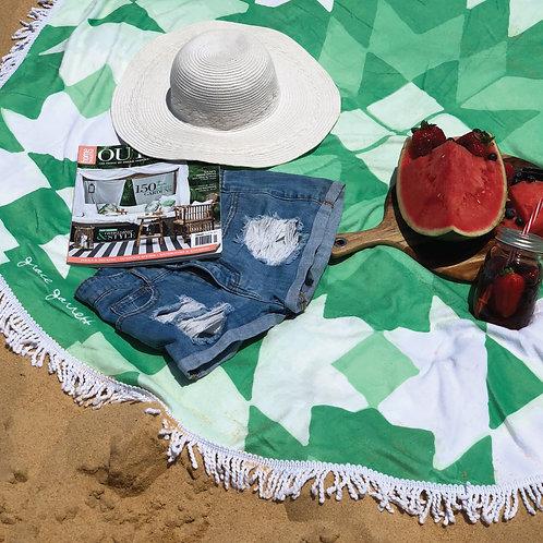 Meknes Beach Towel Emerald - Summer 2018/19